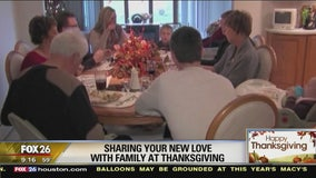 Sharing your new love with family during the holiday