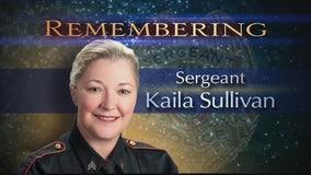 Funeral service held for Nassau Bay Sgt. Kaila Sullivan