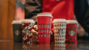 Starbucks giving away free drinks through Dec. 31 at 'pop-up parties' nationwide
