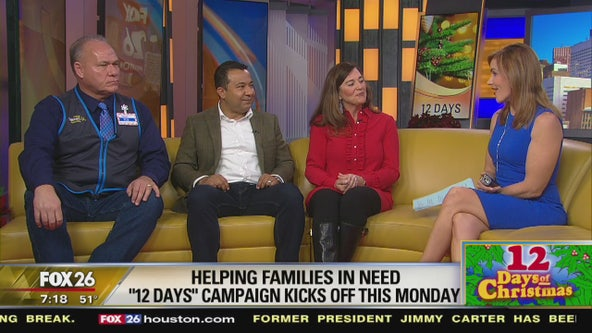 '12 Days of Christmas' campaign kicks off this Monday