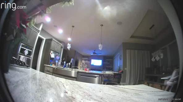 'Whatcha watching?' Home surveillance camera hacked by man who speaks to young girl watching TV