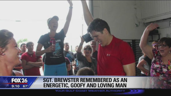 Sgt. Christopher Brewster remembered as energetic, goofy and loving man