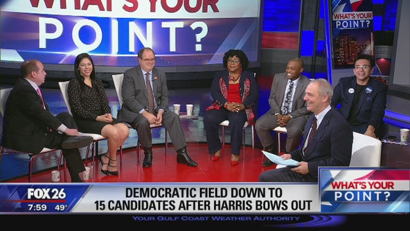 The Democratic candidates race to be president