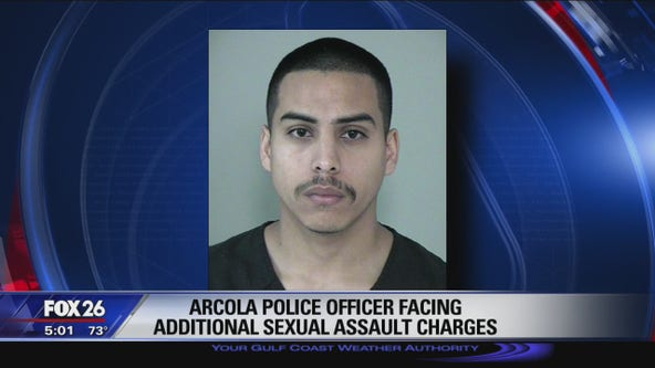 Arcola officer arrested on second charge of sexual assault