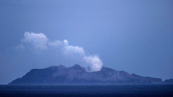 American honeymooners found alive, severely burned after volcano eruption in New Zealand