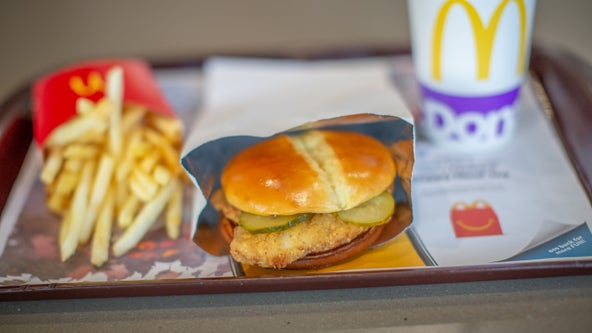 McDonald's tests new crispy chicken sandwich in Houston