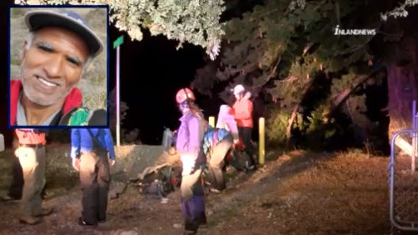 Search and rescue crew member dies while searching for missing hiker in Mt. Baldy