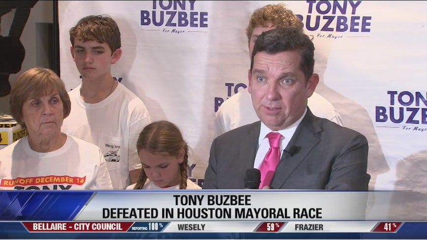 Tony Buzbee defeated in Houston mayoral bid
