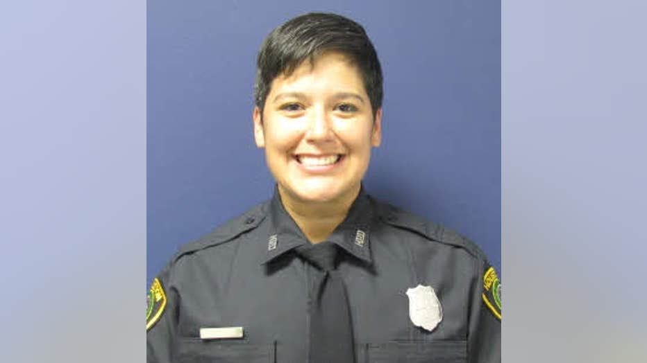 The Houston Police Department says Officer Gizelle Solorio died in a crash on I-10 West near Sealy. She was off duty at the time.