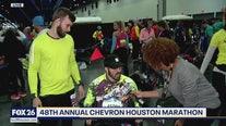 48th Annual Chevron Houston Marathon participants gather in George R. Brown Convention Center