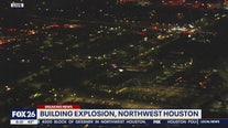 Building explosion in Northwest Houston