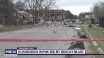 Business owners get first look at damage after deadly explosion in northwest Houston