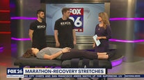 Marathon-recovery stretches
