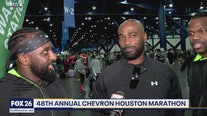 Thousands of runners participate in the 48th Annual Chevron Houston Marathon