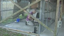 Florida man sleeps in animal shelter for 30 days in a push for better facilities