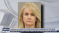 Woman accused of killing estranged husband out on bond