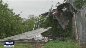 Crews begin cleanup after Friday night storm