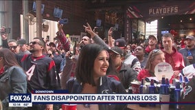 Fans disappointed after Texans lose to Chiefs