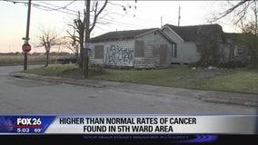 Houston Health Department starts investigating cancer-struck area