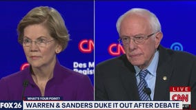 Warren and Sanders duke it out after the Iowa debate