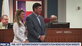 Former Katy ISD superintendent Lance Hindt's doctoral dissertation removed from UH archival website