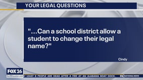 Your Legal Questions: Student changing name; wife's credit card debt