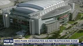 NRG Park designated as 'no trafficking zone'