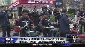 Houstonians fired up for Texans' Wild Card win