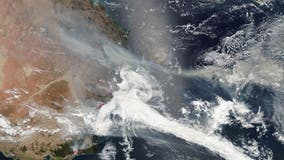 Australia's destructive wildfires seen from space in NASA images
