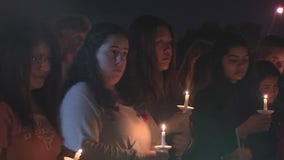 Loved ones hold candlelight vigil to remember student killed at Bellaire High School