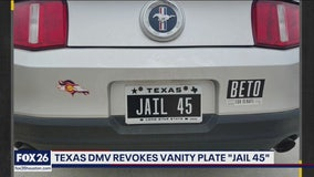 WYP -  Texas vanity plate withdrawn