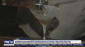 Alcohol-related deaths increase