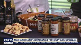 Most-searched Super Bowl snacks