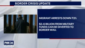 Illegal border crossings drop for 7th month in row and 100th mile of wall completed- What's Your Point?