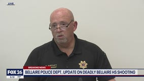 Bellaire Police Department update on deadly high school shooting