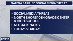 Galena Park ISD prohibits backpacks after social media threat