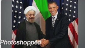 Republican Congressman shares fake photo of Obama and Iranian president
