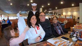 SoCal mother gifted ultimate holiday surprise from US Navy sailor son