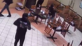 8 suspects wanted for armed robbery at Houston restaurant
