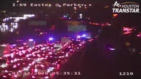 Eastex Freeway SB reopens at Tidwell after deadly crash