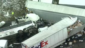 Investigators say bus passed truck before Turnpike wreck killing 5