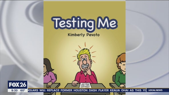 Testing anxiety: new book designed to help kids cope