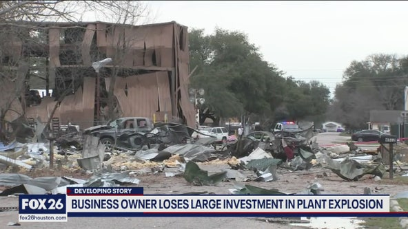 Business owner loses large investment in plant explosion