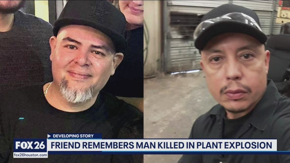 Friend remembers man killed in plant explosion