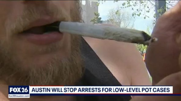 Austin decriminalizes marijuana possession - What's Your Point?