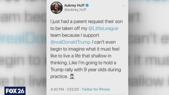 Parents pull child from baseball team because coach is a Trump supporter- What's Your Point?