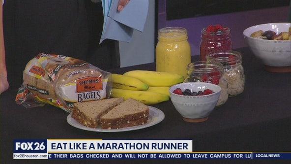 Eat like a marathon runner