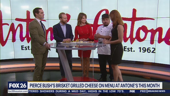 Pierce Bush sandwich on the menu at Antone's this month