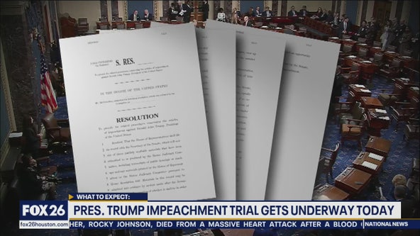 President Trump impeachment trial underway