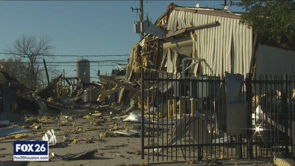 Deadly explosion heavily damages nearby businesses
